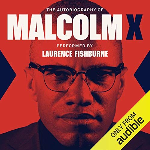 『The Autobiography of Malcolm X』のカバーアート
