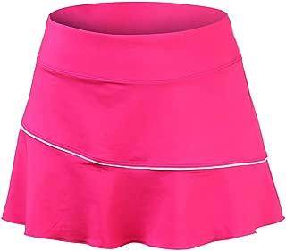 Women's CoolDry Elastic Tennis Skirt with Shorts Dance Skorts