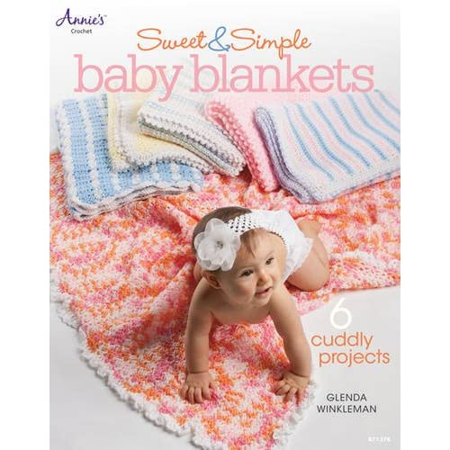 0a9b8a46e Sweet & Simple Baby Blankets (Annie's Crochet)