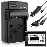 Batería + Cargador (Coche/Corriente) para Sony NP-FH50/FP-50 / DSC-HX1, HX100V, HX200V / Alpha. - Ver Lista!