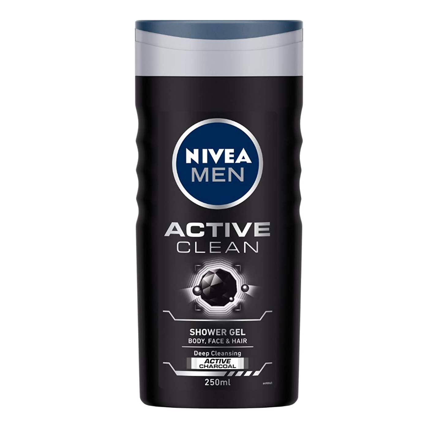 アデレードテロリスト入場Nivea Men Active Clean Shower Gel, 250ml