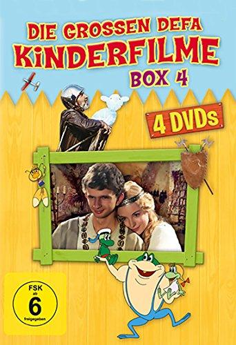Die grossen DEFA Kinderfilme - Box 4 [4 DVDs]