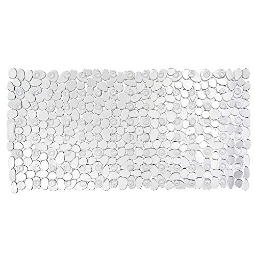 WENKO Wanneneinlage Paradise Transparent, Polyvinylchlorid, 36 x 71 cm, Transparent