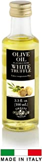 White Truffle Infused Olive Oil - 3.4 oz - By Urbani Truffles. Infused Truffle Olive Oil 100% Made In Italy With Natural Aroma (NO Artificial Flavor). Truffle Flavor Perfect For Fish, Pasta, Meat And