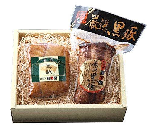鹿児島ますや 無添加黒豚熟成ベーコンと肩ロース焼豚 MA-102