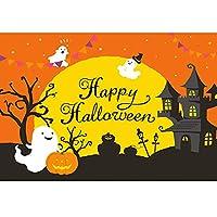 ハロウィーンの怖い装飾のためのハロウィーンの背景バナー、ハロウィーンの写真ブースの背景の背景、ハロウィーンの屋内屋外ストアバーの装飾