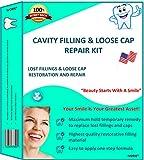 IVORIE Dental Cosmetic Restoration Cavity Filler Filling Loose Cap Crown Repair Kit Cavity Filler