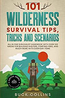 101 Wilderness Survival Tips, Tricks and Scenarios: All In One Survivalist Handbook With Over 100 Hacks For Building Shelt...