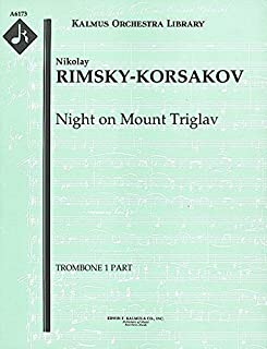Night on Mount Triglav: Trombone 1, 2 and 3 parts [A6173]