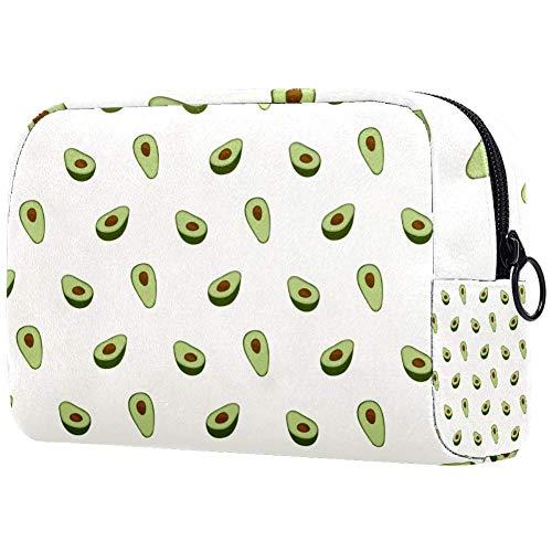 Bolsa de maquillaje personalizada para brochas de maquillaje, bolsas de aseo portátiles para mujeres, bolso cosmético, organizador de viaje, tela impresa y productos orgánicos veganos crudos
