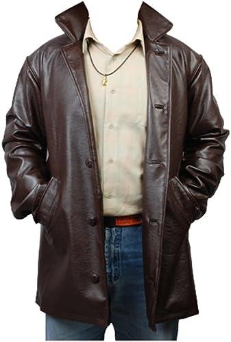 Supernatural Dean Winchester Pleather Jacke Coat Cosplay Kostüm Herren XXXL