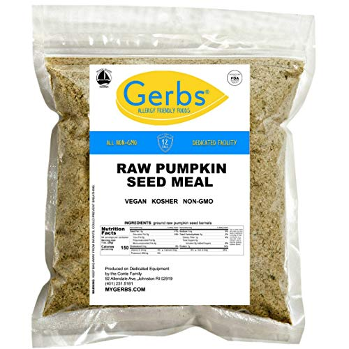 Ground Pumpkin Seed Meal, 16 ounce Bag