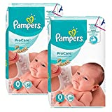 Couches Pampers - 76 Couches Procare Premium Protection Taille 0