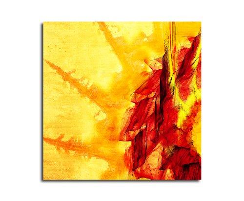 Moderne abstrakt015_60 x 60 cm sur toile motif abstrait intérieur décoration indémodable, 047