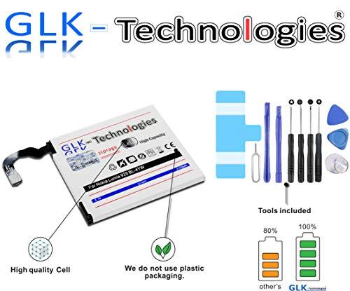 GLK-Technologies -30% NUR Kurze Zeit AKKU für Nokia Lumia 925 ersatzt BL-4YW 2100mAh Batterie Accu inkl. Werkzeug Set Kit Produkt 2020 B.j