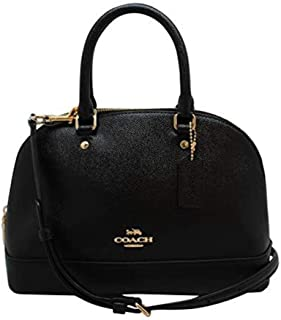Womens Mini Sierra Satchel Handbag, Crossgrain Leather,...