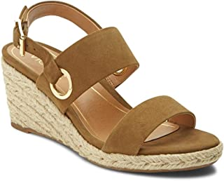 Women's Tulum Vero Wedge - Ladies Espadrille Sandals with Concealed Orthotic Arch Support