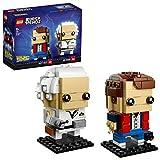LEGO BrickHeadz Marty Mcfly & Doc Brown (41611) (Exclusivo de Amazon y LEGO)