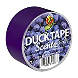 Duck Brand 240899 Scents Duct Tape, 1.88-Inch x 8-Yard, Single Roll, Grape