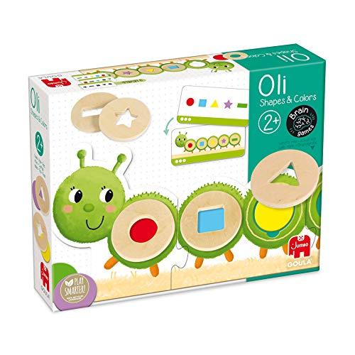 Goula- OLI Shapes & Color - Juguete Educativo de Habilidad Mental para Aprender Formas y Colores para niños a Partir de 2 años, Multicolor (53477)