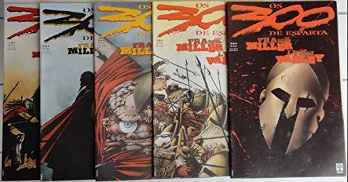 Os 300 de Esparta - minissérie completa em 5 edições