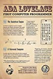Ada Lovelace First Computer Programmer Notebook: - 110 Pages, In Lines, 6 x 9 Inches