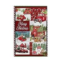 1000 ピース ジグソーパズル,Merry Christmas Red Car Snow Picture Puzzle 大人 子供 の 木製パズル 独立した実践的なスキルを養う 親子ゲーム 減圧玩具ギフト ジグソーパズル 組み立てジグソー楽しいゲームジグソーパズル 子供 初心者向け ギフト プレゼント
