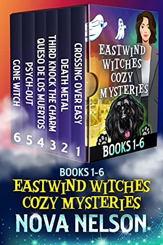 Eastwind Witches Cozy Mysteries: Books 1-6: Paranormal Cozy Mystery Box Set by [Nova Nelson]
