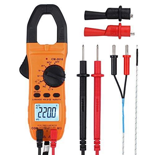 CAMWAY Portable Clamp Meter Digital…