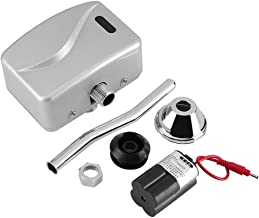 HelloCreate Toilet Sensor Urinale klep Blootgestelde muur gemonteerde automatische sensor Touchless Urinal spoelklep DC 6V