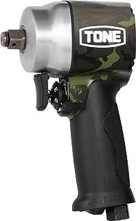 トネ(TONE) エアーインパクトレンチ(シュートタイプ) AI4201GCM 迷彩柄(グリーン) 本体: 奥行10.8cm 本体: 高さ18.4cm 本体: 幅6.3cm