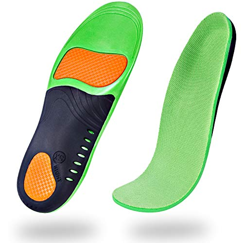 Professional Arch Support Orthotic Insoles (2 Pairs) Plantar Fasciitis Arch Pain Flat Feet High Arch Orthotic Insoles for Men & Women & Kids (XS Size Women 5-7)