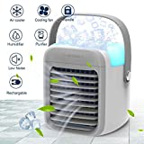 Nertpow Portable Air Conditioner, Portable Cooler, Quick & Easy Way to Cool Personal Space, As Seen On TV, Suitable for Bedside, Office and Study Room. Three Wind Level Adjustment …