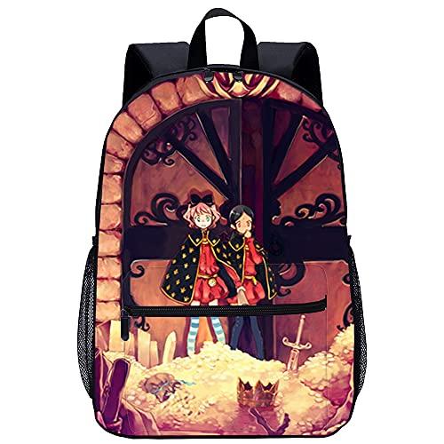 Mochila Infantil 3D mochila Pequeña bruja románica Adecuado para: estudiantes de primaria y secundaria, la mejor opción para viajes al aire libre Tamaño: 45x30x15 cm   17 pulgadas mochila de viaje