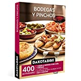 DAKOTABOX - Caja Regalo hombre mujer pareja idea de regalo - Bodegas y pinchos - 400 activ...