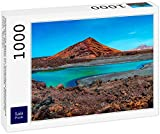 Lais Puzzle Naturaleza volcánica en el Parque Nacional de Timanfaya Cerca de la Costa en Lanzarote, Islas Canarias, España 1000 Piezas