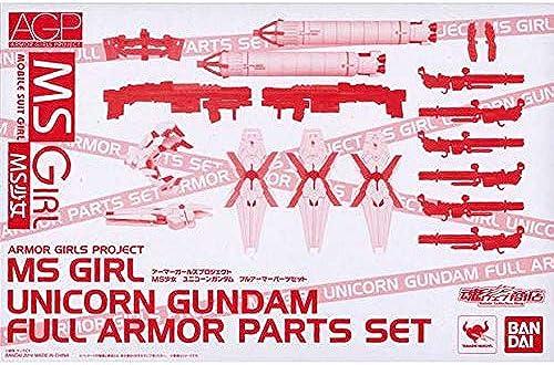 Rustung Madchen Projekt MS Gundam Unicorn Madchen Volle Rustung Parts Set