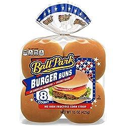 Ball Park Classic Burger Buns, 8 count, 15oz