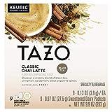 タゾ チャイ クラッシック ラテ 9個入 KEURIG キューリグ用 K-CUP Tazo [並行輸入]
