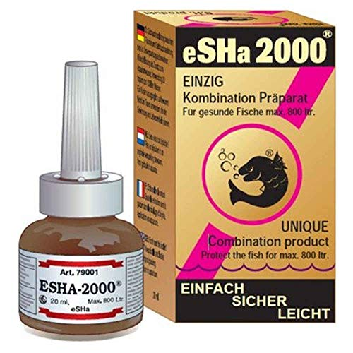 Esha Remedio para Peces Ornamentales 79001-2000, 20 ml