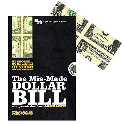 Mis-Made Dollar Bill - James Lewis written by John Lovick by Murphy's Magic