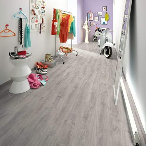 Egger Laminat Dielen 90,09 m² 6 mm Nordkap Eiche Grau