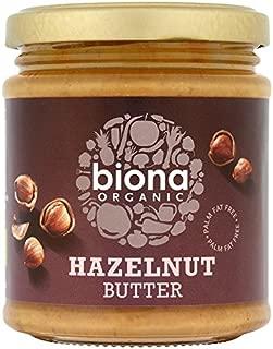 Biona Organic - Hazelnut Butter - 170g (Pack of 3)