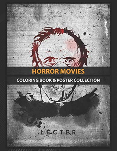 Coloring Book & Poster Collection: Horror Movies Lecter Movies