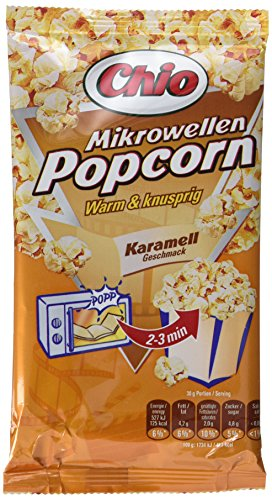 Chio Mikrowellen Popcorn Karamell, 11er Pack (11 x 100 g)