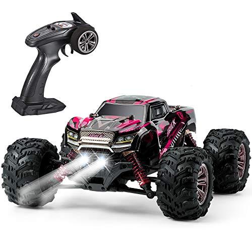 VATOS Ferngesteuertes Auto 4WD Elektro RC Auto 26 km/h 1:20 RC Monster Truck 2,4 GHz Rennwagen RC Crawler Spielzeug für Kinder (p-3)