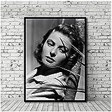yhyxll Ingrid Bergman Poster und Drucke HD-Druck Bilder