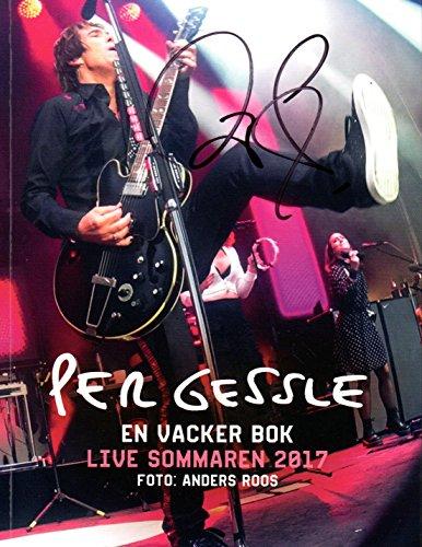 Buch Fotobuch Per Gessle (Roxette) - En Vacker Bok - Live Sommaren Tournee 2017