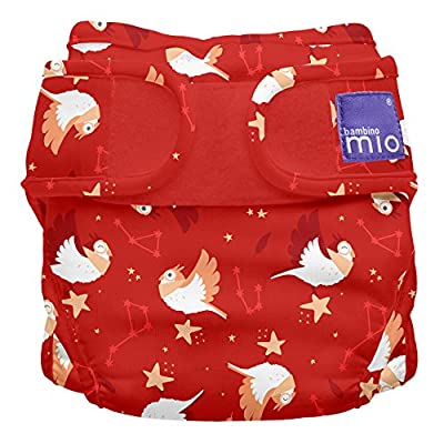 Bambino Mio, Miosoft Cloth Diaper Cover, Starry Night, Size 1 (<21lbs)