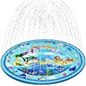 "BlueTEK 68"" 3-in-1 Sprinkler Splash Pad for Kids"